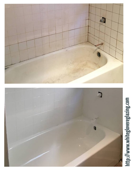 White Glove Bathtub Tile Reglazing Serving New York