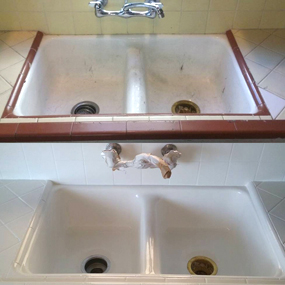 Professional Sink Reglazing And Refinishing In Nyc