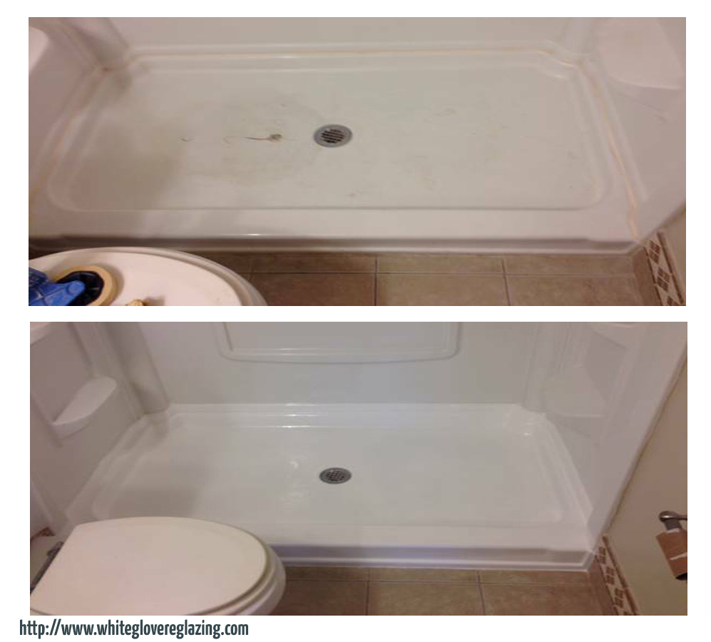 Before and after photos of nyc reglazing services shower tile reglazing nyc doublecrazyfo Choice Image