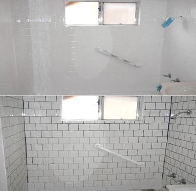 Tile Refinishing – White Glove Bathtub & Tile Reglazing